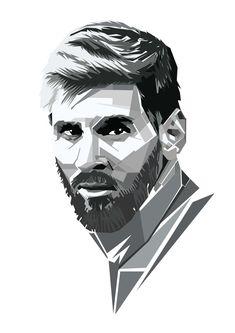 Messiah of football . Gamer Shirt, Pop Art Portraits, Girl M, Sports Stars, Liverpool Fc, Pencil Art, Messi, Line Drawing, Art Projects