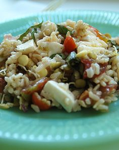 ... & MiCRo-gREeN ReCIpeS on Pinterest | Sprouts, Lentils and Rice salad