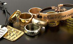 INK jewelry - Wear your words  www.inkproject.it