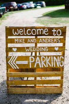 Most Popular Rustic Wedding Signs Ideas ❤ See more: http://www.weddingforward.com/rustic-wedding-signs/ #weddings