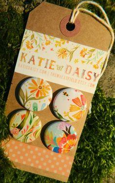 Button Artwork by Katie Daisy (www.KatieDaisy.com)