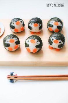 funny food - funny food prepared for big and small creativ - Bento Box °-° - Cute Food, Yummy Food, Japanese Food Art, Cute Bento Boxes, Kawaii Bento, Bento Recipes, Bento Ideas, Sushi Art, Think Food