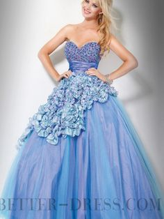 Simple Beading Sweetheart Backless Floor-length Quinceanera Dresses