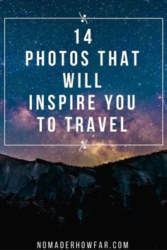 Travel might be a great way to meet new people, grow, discover adventure, and learn about yourself, but primarily, its a feast for the eyes and the soul.