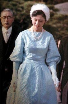 美智子皇后陛下 as 皇太子継宮明仁親王妃美智子(つぐのみやあきひとしんのうひみちこ)殿下時代 Crown Princess Michiko
