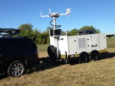 satellite trailer mobile command trailer pCom