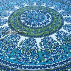 INDIAN-TWIN-zavěšení na stěnu-TAPISERIE-Přehoz-Bed-Cover-Jednorázové Mandala-Decor-Art-S