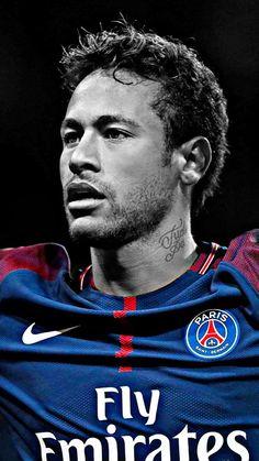 Neymar Jr w Paris Saint-Germain Messi Y Neymar, Neymar Football, Best Football Players, Soccer Players, Soccer Sports, Sport Football, Neymar Images, Dope Wallpapers, Portraits