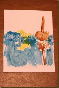 FIAR Story about Ping ~ reflection art