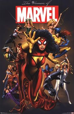 Women of Marvel Poster