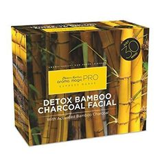Original Aroma Magic Detox Bamboo Charcoal Facial Kit ship with in saftey Real Beauty, Smooth Skin, Glowing Skin, Aromatherapy, The Help, Detox, Charcoal, Bamboo, Facial