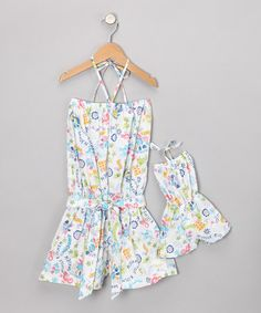 Blue Romper & Doll Outfit - Toddler & Girls by 4EverPrincess on #zulily today!