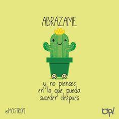 Arriésgate. #opi #cute #kawaii #cactus #mostropi #ilustración