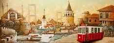 İstanbul Portfolyo -Bahadır Yusuf ODABAŞI Istanbul, Wood Carving, Coloring Pages, Taj Mahal, Decoupage, Watercolor, Drawing, Nature, Painting