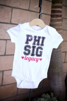 Phi Sig Legacy  for my little Phi Sig someday :)