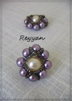 FREE Pattern -  Pearl Beaded Ring featured in Bead-Patterns.com Newsletter!