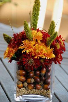 fall wedding ceremony flowers, fall wedding décor, wedding flower arrangement, add pic source on comment and we will update it. www.myfloweraffair.com
