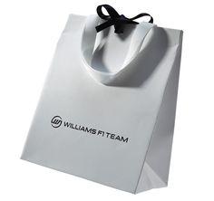 asa de fita de algodão branco + fita de cetim no centro do saco 1 cor em alto relevo