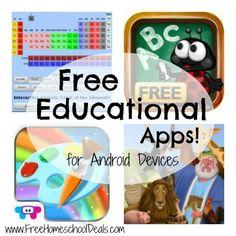 """Dentro de esta pagina, mencionan varias aplicaciones gratuitas educativas. La primera aplicación """"Interactive Periodic Table of Elements"""" ayuda a los alumnos a comprender y a aprender sobre la tabla periódica."""