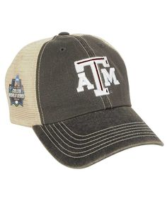 e1708958a45 Texas A M Aggies Top Of The World Men s College World Series Meshback Cap