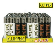 Boite de 48 briquets Clipper Blackleaf