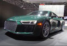 Audi R8 V10 Plus Goodwood Green