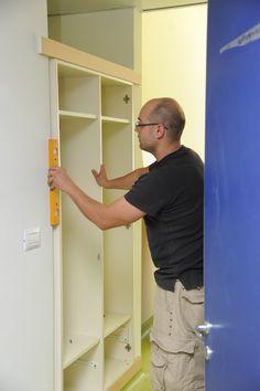 1000 images about camere di degenza del nuovo ospedale on for Armadio incassato