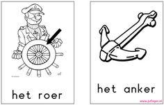 Woordenschat 'het schip' - Juf Inger, kern 7 VLL