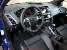 cool ford focus st black interior car images hd 2014 ford focus st interior the carspeed
