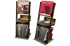 Vintage Record Shelves - ponitee:::