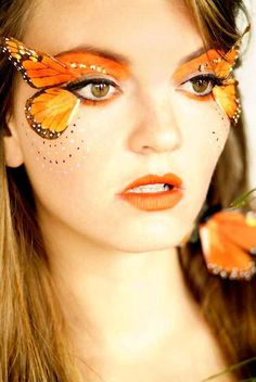 Are you looking for inspiration for your Halloween make-up? Check out the post right here for scary Halloween makeup looks. Fairy Make-up, Fairy Fantasy Makeup, Fantasy Make Up, Purple Fairy Makeup, Fantasy Hair, Fx Makeup, Makeup Hacks, Makeup Ideas, Makeup Tips