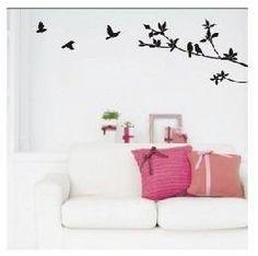 Vinilo decorativo pegatina pared, cristal, puerta (Varios colores a elegir)- pajaros de SUPER STICKER, http://www.amazon.es/dp/B00C9WQ9VG/ref=cm_sw_r_pi_dp_iBoFsb0SCXCMQ
