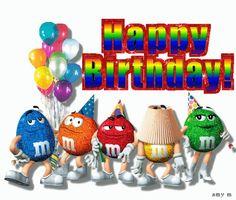 8 Happy Birthday Clip Art Ideas Happy Birthday Clip Art M M Characters M M Candy