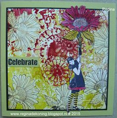 Regina's Artfun: Celebrate big flowers