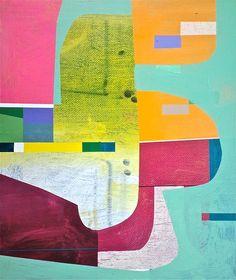 "Saatchi Online Artist: Jim Harris; Acrylic, 2013, Painting ""Stereo."""