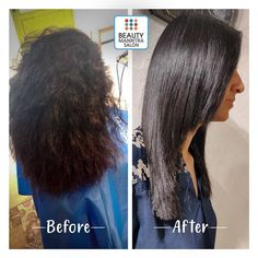 Where on earth will you find such mesmerizing transformation? Only at Beautymanntra! Our hair expert gave her a glowing hair straightening treat and results are all in front of your eyes. Drop your views in the comments below. Hair Straightening, Spa Services, Bridal Makeup, Salons, Hair Care, Drop, Earth, Eyes, Hair Smoothing
