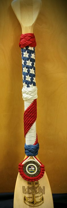 Paracord Paddle by C. Wulf