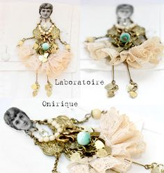 Laboratoire Onirique - Sautoir Princesse en beauté (Pièce unique)