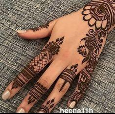 Henna Hand Designs, Eid Mehndi Designs, Mehndi Designs Finger, Pretty Henna Designs, Modern Henna Designs, Mehndi Designs For Girls, Mehndi Designs For Beginners, Mehndi Designs For Fingers, Mehndi Design Images