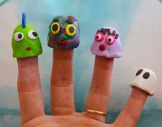 Sculpey Finger Puppet Fun