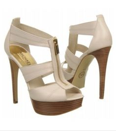 MICHAEL MICHAEL KORS Womens Berkley Platform Vanilla Leather- I have these in black. (and I don't wear heels much) Outlet Michael Kors, Cheap Michael Kors, Handbags Michael Kors, Mk Handbags, Michael Kors Heels, Discount Handbags, Cheap Handbags, Heeled Boots, Shoe Boots