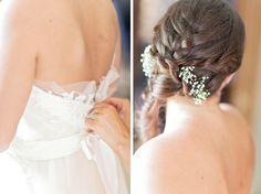 dress & hair details