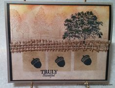 Lovely as a Tree. Check out my blog to see what this card represents! http://www.karenscardkorner.blogspot.com