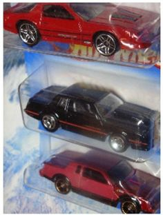 Hot Wheels Detailed Diecast '86 Monte Carlo SS - Buick Grand National - Chevy Camaro z 1/64 Scale by Mattel. $22.49. Detailed Diecast Replica. Scale 1/64. Hot Wheels Detailed Diecast 1986 Monte Carlo SS - Buick Grand National - Chevy Camaro Iroc-Z 1/64 Scale