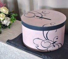 urne mariage romantique baroque rose gris et blanc. Black Bedroom Furniture Sets. Home Design Ideas