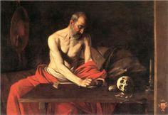 Saint Jerome Writing - Caravaggio