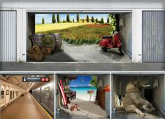 Style Your Garage with a Mural!