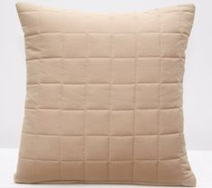 Béžová prešívaná obliečka na vankúš v rozmere 40x40cm Throw Pillows, Bed, Toss Pillows, Cushions, Stream Bed, Decorative Pillows, Beds, Decor Pillows, Scatter Cushions