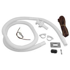 Attwood Bilge Pump Installation Kit w/Switch, 3/4 Hose Clamps & 20 Wire Fuse Holder