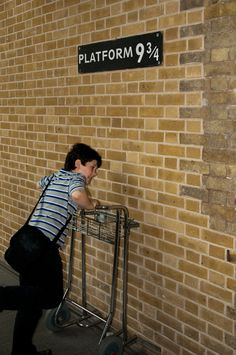Every kid's favourite photo opportunity!   http://www.journography.net/blog/harry-potter-walking-tour-of-london/#